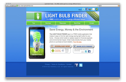 The Light Bulb FiNder